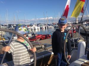 Młodzi kapitanowie: Szymon i Bartosz