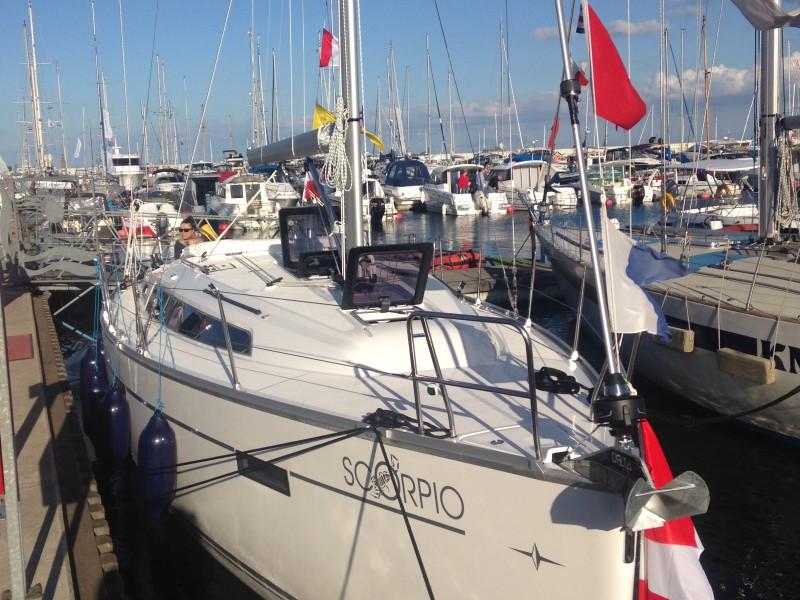 SCORPIO pod banderą Yacht Klubu Polski Gdynia
