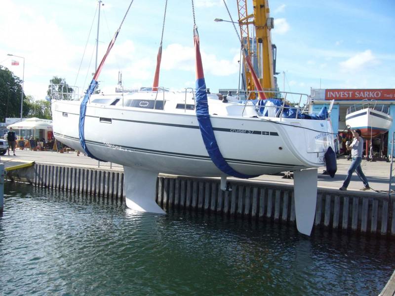 Nowy jacht zwodowany!