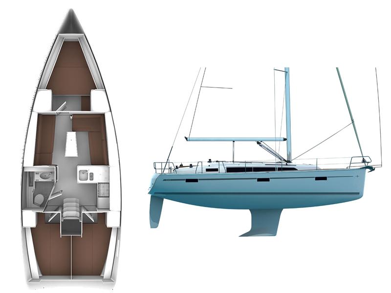 Jacht Scorpio - Bavaria 37